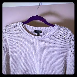 Studded shoulder Topshop sweater